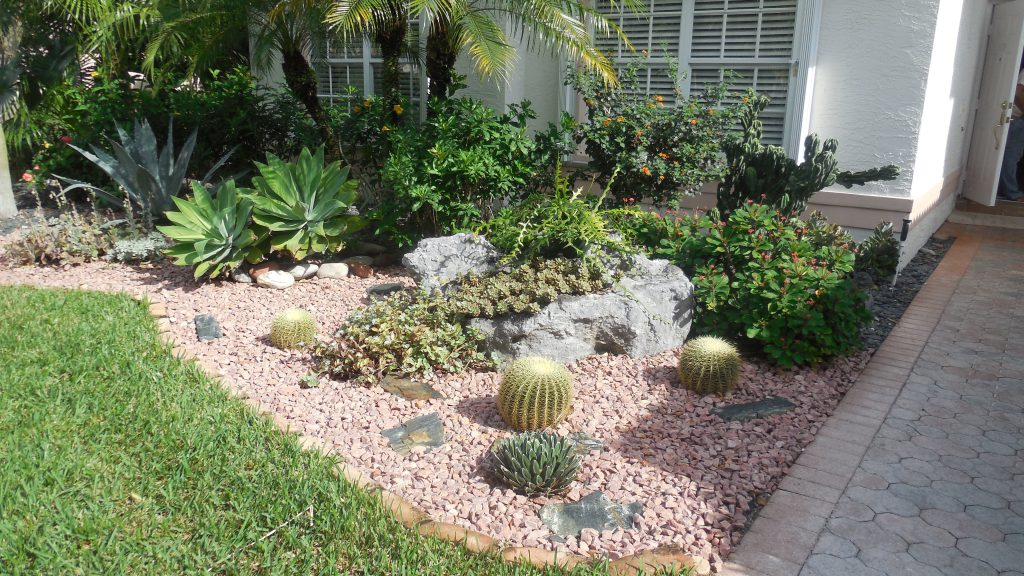landscaping in delray beach and boca raton